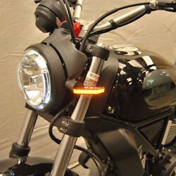 Ducati Scrambler Cafe Racer/sixty2/desert Sled Front Turn Sig - New Rage Cycles