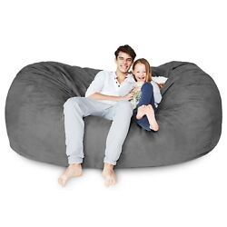 Big Xl 6and039 Xxl 7and039 Foam Filled Bean Bag Relax Seat Sofa Lazy Lounger Loveseat
