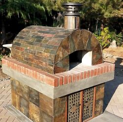 Brick Oven Andbull Wood Burning Pizza Oven - Real Bread And Pizza Ovens For Less Money