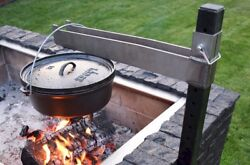Brickwood Box- Cast Iron Pot Extension For Dutch Oven Cooking And Dutch Oven Bread