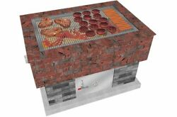 Brickwood Box - Grill Grate • Stainless Steel Grill • Fire Pit Grill Grate