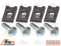 Screw Kit Stainless Steel Fixing Hubcaps Handles Interior Front Right And G