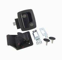Ap Products Bauer Travel Trailer Lock With Keys Black 013-520