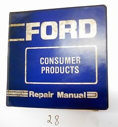 Ford Lgt Yt Lt R8 R11 Consumer Products Lawn Tractors Repair Service Manual