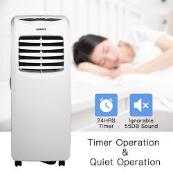 10000BTU Portable Air Conditioner Dehumidifier Function Remote with Window Kit