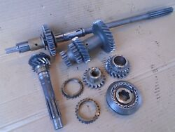 Ford 100e Transmission Gearbox Gear And Shaft Set Anglia Prefect Popular Squire