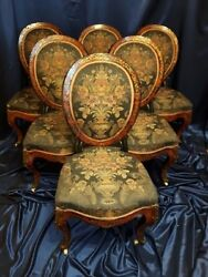 Set of chairs Boulle.