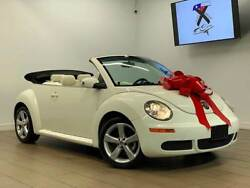 2007 Beetle-New Triple White 2dr Convertible 2007 Volkswagen New Beetle Triple White 2dr Convertible