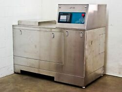 JST  Custom PLC Controlled Ultrasonic Glass Plate Washer DT921E