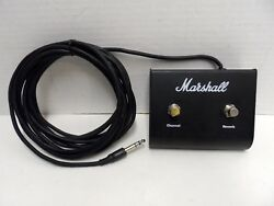 Marshall Foot switch 2 Two Button Channel Reverb GUITAR PEDL-00009 Dual Pedal