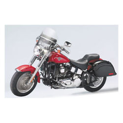 National Cycles Chopped Touring Windshield Tinted For Harley-davidson Flh 60-84