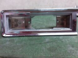 1958 Cadillac Deville Lh Driver Side Chrome Courtesy Light Bezel Used Oe 7742921