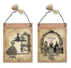Paris Pictures Victorian Bathroom Dress Forms Old Dresses Wall Hangings Plaques