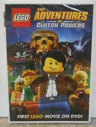 LEGO: The Adventures of Clutch Powers (DVD 2010) RARE BRAND NEW