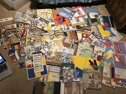 Boy and Child Scrapbook Lot with Hand Designed Pre-Made Pages and Stickers