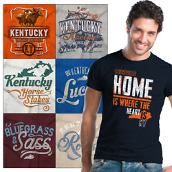 Kentucky Souvenir Tees Shirt Graphic T For Men Womens Vacation Gifts Tshirts