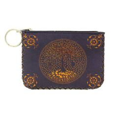 Coin Purse Tree of Life Design Make Up Bag ID Holder