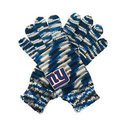 Nfl Pick Your Team - Touch By Alyssa Milano Gloves Spacedye Striped Gloves