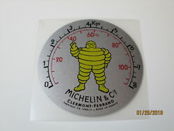 Michelin Air Compressor Gauge Face Decal For Vintage Restoration Nice And New