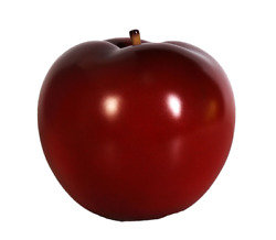 Apple Red Statue Restaurant Display Food Prop Fruit Display 10 inch Tall
