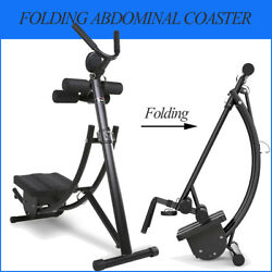 Folding Abs Abdominal Coaster Max Muscle Crunch Exercisers Ab Fitness Machine