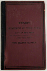 Report Of The Department Of Public Works Of The City Of New York For The Quarter
