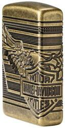 Zippo 2019 Limited Production Harley Davidson Armor Lighter 29898 New In Box