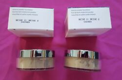 Mary Kay Mineral Powder Foundation Beige 2 Full Size New In Box  =LOT OF 2=