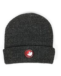 Canada Weather Gear Marled Knit Cuffed Beanie Style Winter Hat Gray Toque