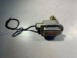 Used Asco Red Hat Nuclear Solenoid Valve 125vdc. Coil 1/4 Pipe Size Np8320a186e