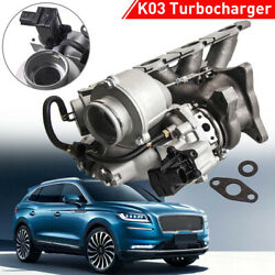 K03 Turbocharger For Vw Eos Golf Gti Audi A3 2.0l Tfsi Up To 320hp 53039880105
