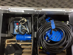 Arrisun 2 with Arri 200EB HMI Ballast bulb and flight case.