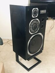 Yamaha NS-1000M Speakers All original and very clean Matching Pair+stand+grill