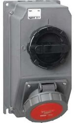 Legrand Hypra Combined Socket With Switch Leg59263 32a 200-250v 2p+e Turn Button