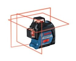 Bosch Gll 3-80 Professional 360 Three-plane Leveling And Alignment Laser Set