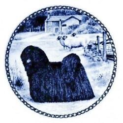 Puli - Dog Plate Made In Denmark From The Finest European Porcelain