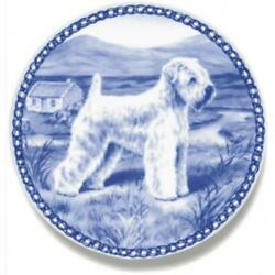Soft Coated Wheaten Terrier - Dog Plate made in Denmark from the finest European