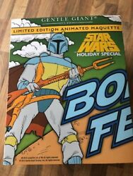 Gentle Giant  Star Wars Boba Fett Holiday Special  852 / 870