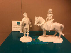 Wdcc Snow White And Away To His Castle Weand039ll Go Forever I Know Whiteware