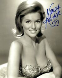 Nancy Kovack Hand Signed 8x10 Photo    Incredibly Sexy Cleavage