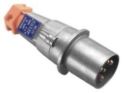 Wilco Plug Extension Socket And Connector 500v 5-round Pin, Aluminium- 32a Or 63a