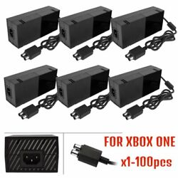1-100pc Wholesale AC Adapter Power Supply Cable Cord Charger For XBOX one lot MX
