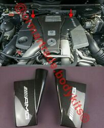 Carbon Engine Air Ducts Covers Mercedes G-class G500 G55 G63 G65 W463 Amg Style