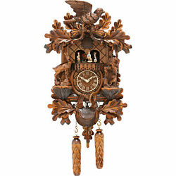 Cuckoo Clock Quartz-movement Carved-style 17.3 By Trenkle Uhren