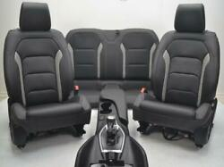CHEVROLET CAMARO FRONT REAR BLACK LEATHER HEATED COOLED SEATS CENTER CONSOLE
