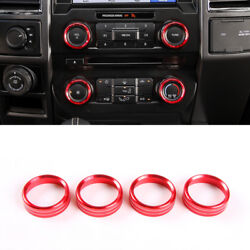 Inner Center Air Conditioner Switch Button Trim For Ford F150 F-150 2016-2017