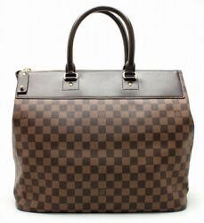 Louis Vuitton Hand Tote Shoulder Bag Greenwich PM Damier N41165 Used