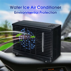 Portable 12V Mini Evaporative Air Conditioner Car Ice Water Cooler Cooling