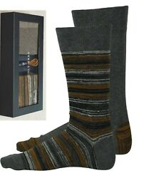 NEW IN GIFT BOX COLE HAAN 2 PAIRS DRESS SOCKS MATCHING LACES SHOE SIZE 7-12 $6.49