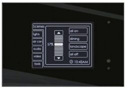Clipsal C-bus Bandw Mkii Touch Screen Controller Clihb5000ctl2 With Logic Engine